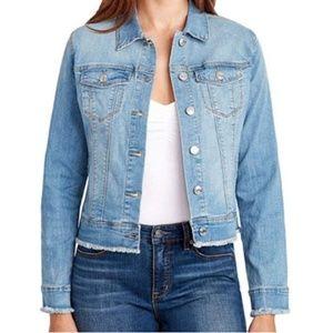 Nine West Sarah Denim Jean Jacket XL